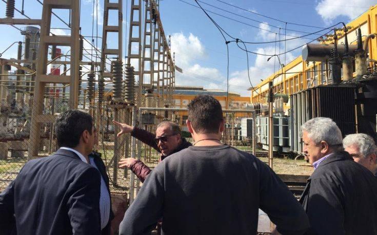 Στη μονάδα παραγωγής ενέργειας στα Λινοπεράματα ο Λευτέρης Αυγενάκης