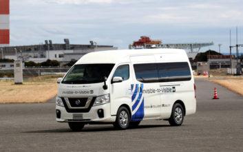 Nissan και Docomo χρησιμοποιούν συνδεσιμότητα 5G