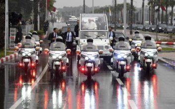 Άνδρας έτρεξε απειλητικά προς το αυτοκίνητο του βασιλιά του Μαρόκου