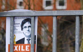Ο Πουτζντεμόν επικεφαλής της λίστας του αυτονομιστικού κόμματος της Καταλονίας στις Ευρωεκλογές