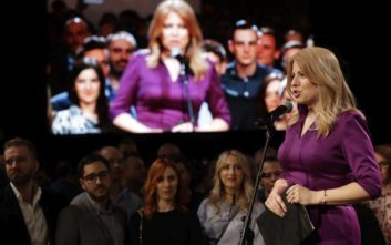 Η Ζουζάνα Τσαπούτοβα προηγείται στις προεδρικές εκλογές της Σλοβακίας