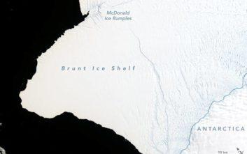 Κομμάτι της Ανταρκτικής, δύο φορές σαν τη Νέα Υόρκη, είναι έτοιμο να αποκοπεί