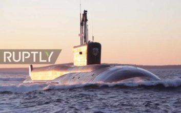 Η Ρωσία παρουσιάζει το «πιο φονικό υποβρύχιο του κόσμου»