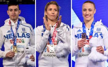 Τα μετάλλια της Ελλάδας στο Ευρωπαϊκό Πρωτάθλημα Κλειστού Στίβου