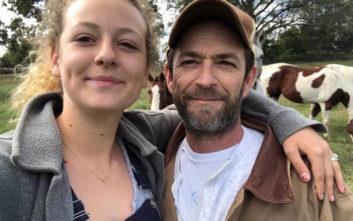 Το ξέσπασμα της κόρης του Λουκ Πέρι σε όσους την επικρίνουν για τον τρόπο που θρηνεί