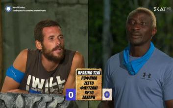 Ο Ογκουνσότο παίζει «Βρες τη λέξη» και κλαίνε όλοι από τα γέλια στο Survivor 3