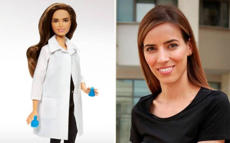 Ελληνίδα επιστήμονας της NASA έγινε… Barbie