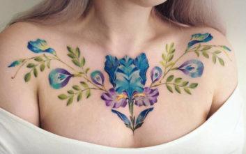 Τατουάζ για τους λάτρεις της άνοιξης