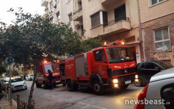 Πυρκαγιά σε διαμέρισμα στο Κολωνάκι