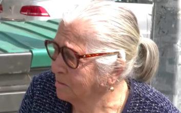 Πρόστιμο στην 90χρονη που συνελήφθη σε λαϊκή αγορά