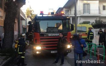 Υπό έλεγχο η πυρκαγιά σε κατάστημα στο Χαλάνδρι