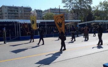 Με το «Μακεδονία Ξακουστή» και άγημα Ποντίων η έναρξη της παρέλασης στη Θεσσαλονίκη