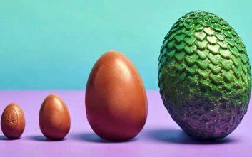 Σοκολατένια αυγά δράκων για το Πάσχα με άρωμα... Game of Thrones