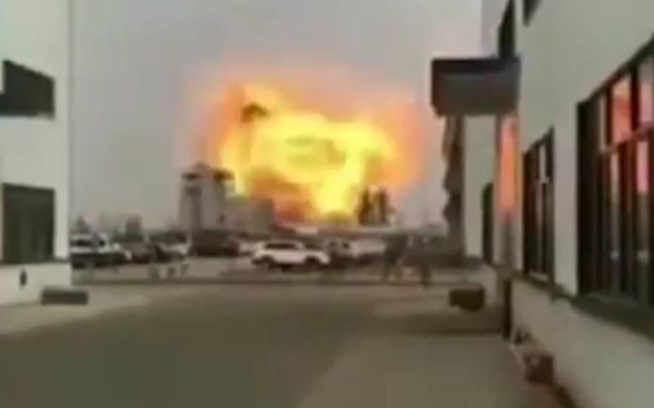 Στους 44 έφτασαν οι νεκροί από την έκρηξη σε χημικό εργοστάσιο στην Κίνα