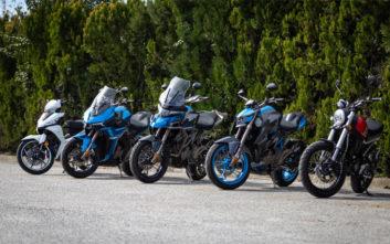 Παρουσίαση και Test Ride νέων μοντέλων SYM και DAYTONA