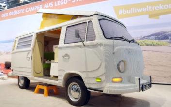 Το βανάκι Volkswagen που κατασκευάστηκε με 400.000 Lego
