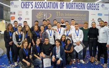 Το ΙΕΚ ΑΛΦΑ και πάλι στην κορυφή του 11ου Διεθνούς Διαγωνισμού Μαγειρικής Νοτίου Ευρώπης