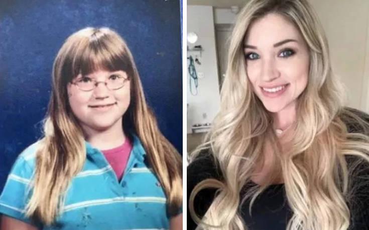 Έφηβες που μεγάλωσαν και μεταμορφώθηκαν