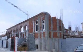 Στη Θεσσαλονίκη χτίζουν ναό με λεφτά από την ανακύκλωση