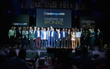 Μεγάλη γιορτή για τους «πρωταγωνιστές» του δικτύου καταστημάτων του ΟΠΑΠ για το 2018