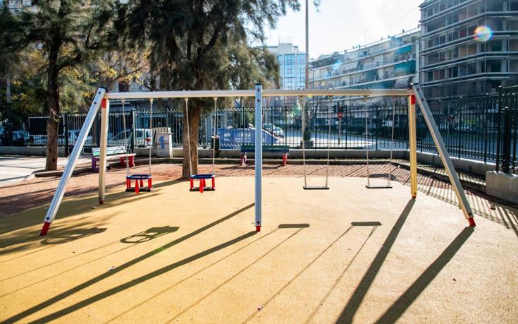 Ακόμα δεκαέξι παιδικές χαρές παραδίδει αυτό το Σαββατοκύριακο ο δήμος Αθηναίων