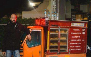 Ο «Παριζιάνος» από τη Λάρισα που νίκησε την ανεργία με ένα τρίκυκλο