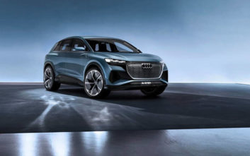 Audi Q4 e-tron concept, ένα τετρακίνητο SUV με αυτονομία 450 χιλιόμετρα