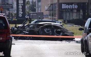 «Εάν δεν ήταν ο μοτοσικλετιστής, θα είχε απανθρακωθεί ο άνθρωπος στο αυτοκίνητο»