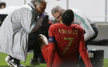 Γκέλα της Πορτογαλίας, τραυματίστηκε ο Ρονάλντο