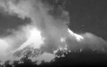Η τρομακτική έκρηξη του ηφαιστείου Ποποκατεπέτλ στο Μεξικό