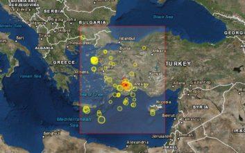 Σεισμός στη δυτική Τουρκία