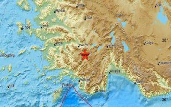 Ισχυρός σεισμός στην Τουρκία ταρακούνησε και τα Δωδεκάνησα