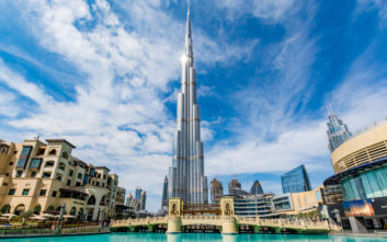 Το ψηλότερο μπαρ στον κόσμο μόλις άνοιξε στο Ντουμπάι