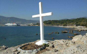 «Ο σταυρός στη Μυτιλήνη αποτελεί υλοποίηση ενός πολιτικού σχεδίου όξυνσης»