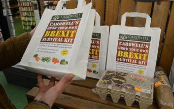 Πακέτο επιβίωσης για το Brexit άρχισε να πουλά φυτώριο στην Αγγλία