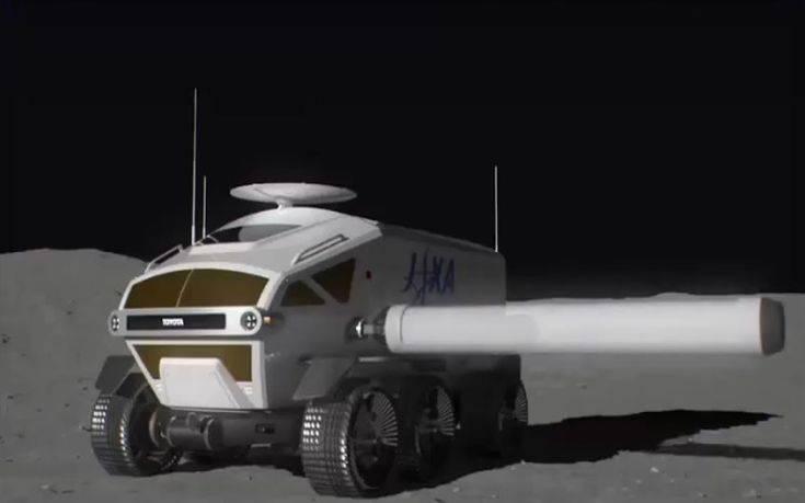 Αυτό είναι το όχημα της Toyota που θα στείλει αστροναύτες στο φεγγάρι