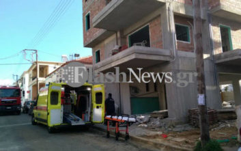 Εργάτης έπεσε σε φρεάτιο οικοδομής στα Χανιά