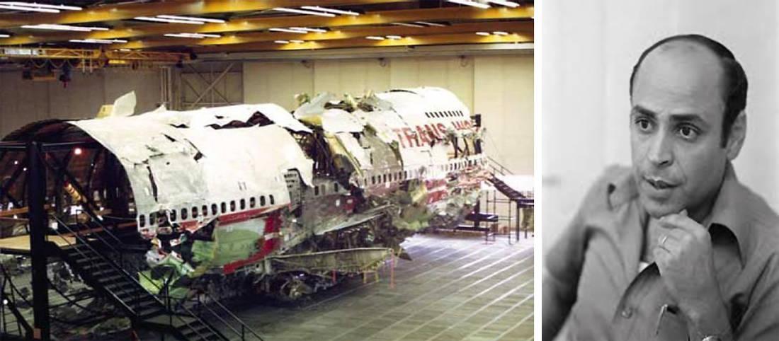 Το θρίλερ με τη βόμβα σε αεροπλάνο της TWA που πετούσε πάνω από το Άργος