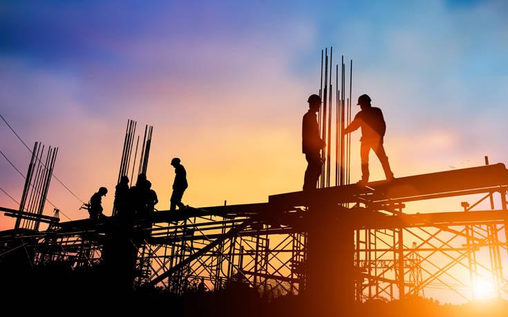 ΕΛΣΤΑΤ: Αυξήθηκε η οικοδομική δραστηριότητα τον Απρίλιο