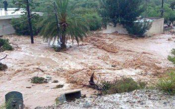 Διασώθηκαν 18 άτομα από την κακοκαιρία στην Κρήτη