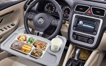 Το απόλυτο γκάτζετ για όσους τρώνε στο αυτοκίνητο