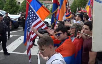 Πορεία στην Ουάσινγκτον για την αναγνώριση της γενοκτονίας των Αρμενίων