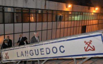 Επίσκεψη Αποστολάκη στη γαλλική φρεγάτα «Languedoc» που βρίσκεται στον Πειραιά