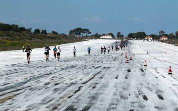 Με επιτυχία πραγματοποιήθηκε το 3ο Airport Run στο αεροδρόμιο της Μυτιλήνης «Οδυσσέας Ελύτης»