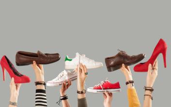 Εξουδετερώστε τις δυσάρεστες οσμές από τα παπούτσια