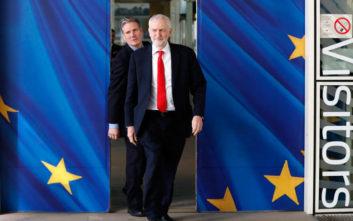 Brexit: Υπέρ δεύτερου δημοψηφίσματος ο Κόρμπιν