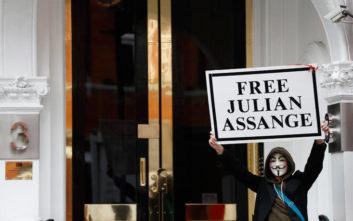 Τζούλιαν Ασάνζ: Απορρίφθηκε αίτημα για την ερήμην κράτησή του