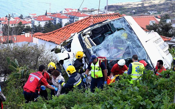 Η Μαδέρα θρηνεί τα θύματα του δυστυχήματος με το τουριστικό λεωφορείο