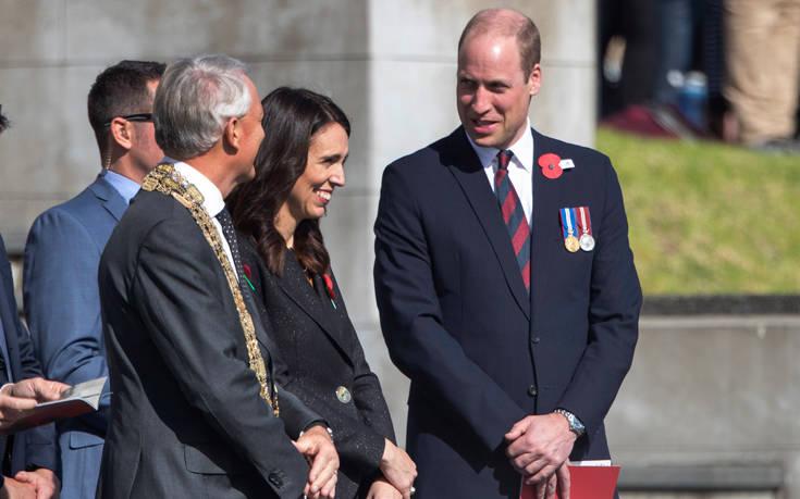Ο πρίγκιπας Ουίλιαμ στη Νέα Ζηλανδία για τη μεγαλύτερη εθνική εορτή, ANZAC