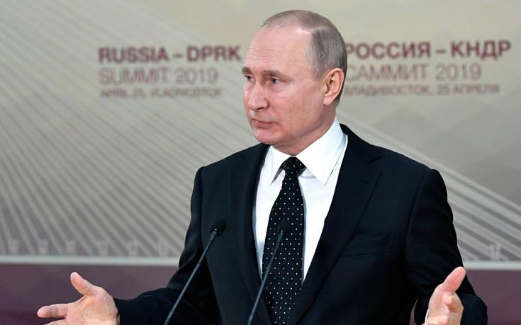 Πούτιν: Δεν είναι κακό να δοθούν ρωσικά διαβατήρια σε κατοίκους της Ουκρανίας